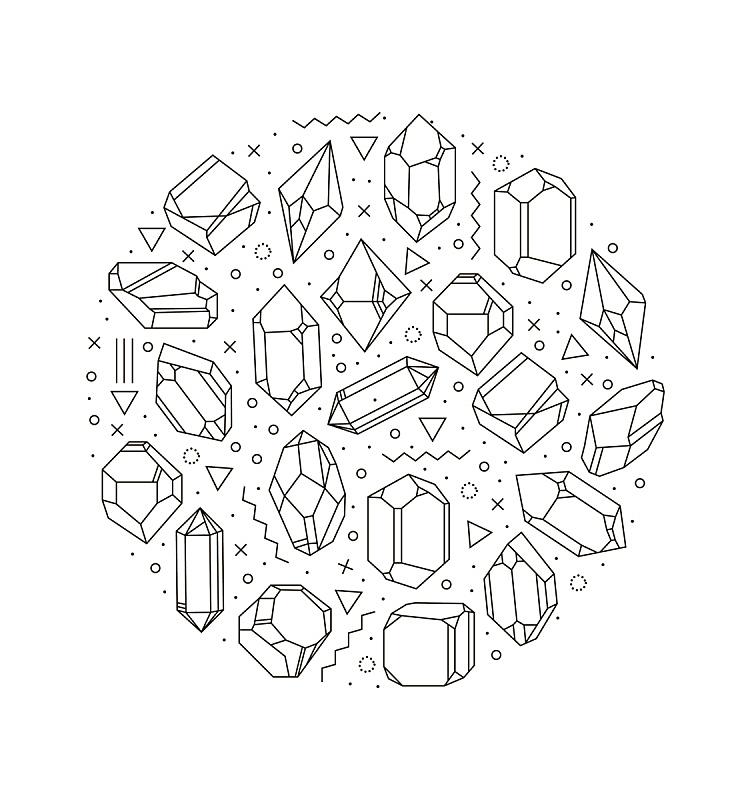 水晶,直的,线条,金字塔形,部分,背景分离,华贵,模板,现代,几何学