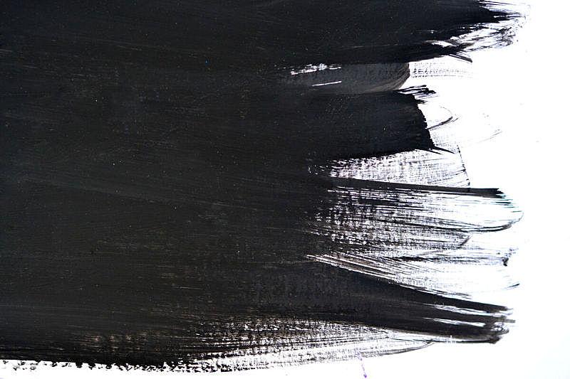黑色,笔触,白皮书,水,艺术,水平画幅,纹理效果,形状,无人