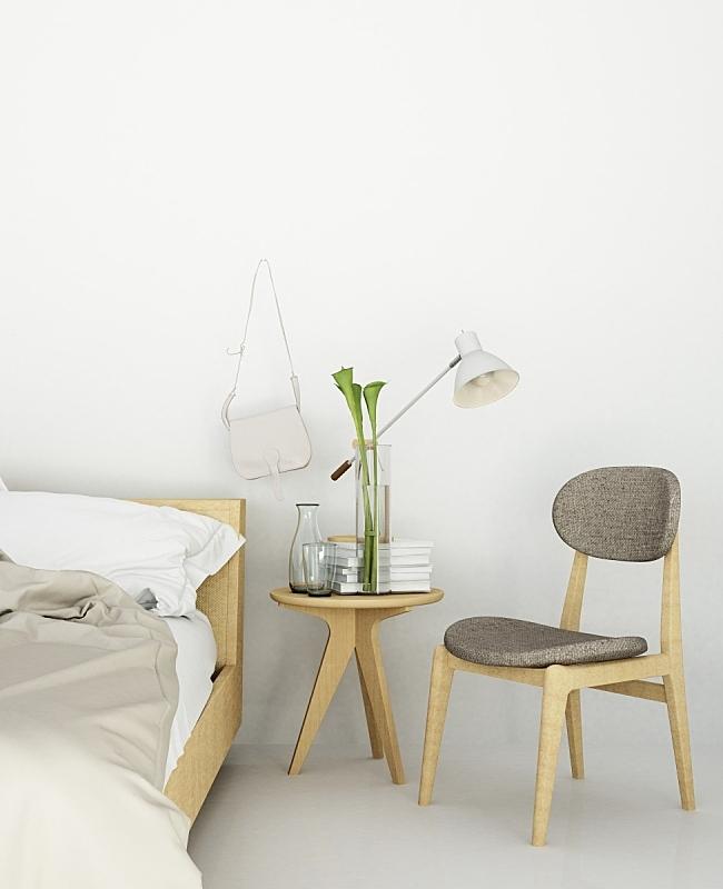 角落,三维图形,卧室,床,太空,时尚,室内,极简构图,酒店,墙