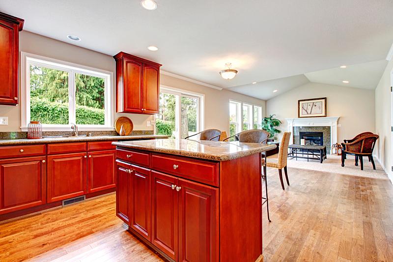起居室,非凡的,厨房,窗户,住宅房间,水平画幅,建筑,无人,豪宅,房地产