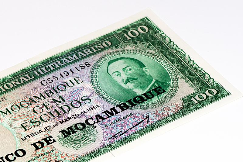非洲,水平画幅,银行,符号,商业金融和工业,莫桑比克,经济,帐单,数字,商务