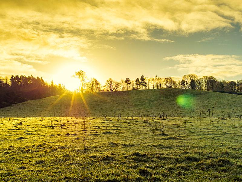 早晨,北爱尔兰,冬天,天空,水平画幅,云,无人,九月,夏天,户外