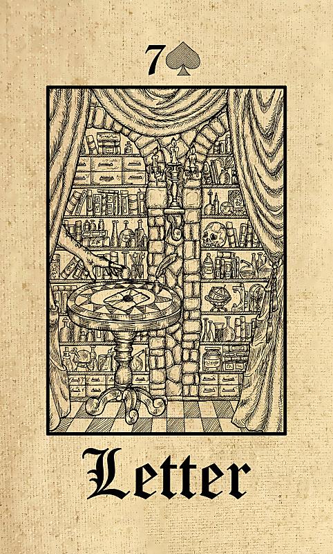 秘密,信函,哥特式风格,预言家,塔罗牌,露天平台,纸牌,炼金术,巫毒教,手稿