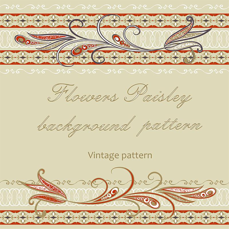 传统,背景,高雅,波西米亚,华丽的,纺织品,复古风格,模板,古典式,四方连续纹样