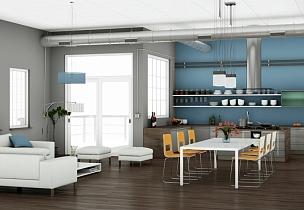 现代,饭厅,室内设计师,华贵,椅子,装饰物,豪宅,窗户,厨房,建筑