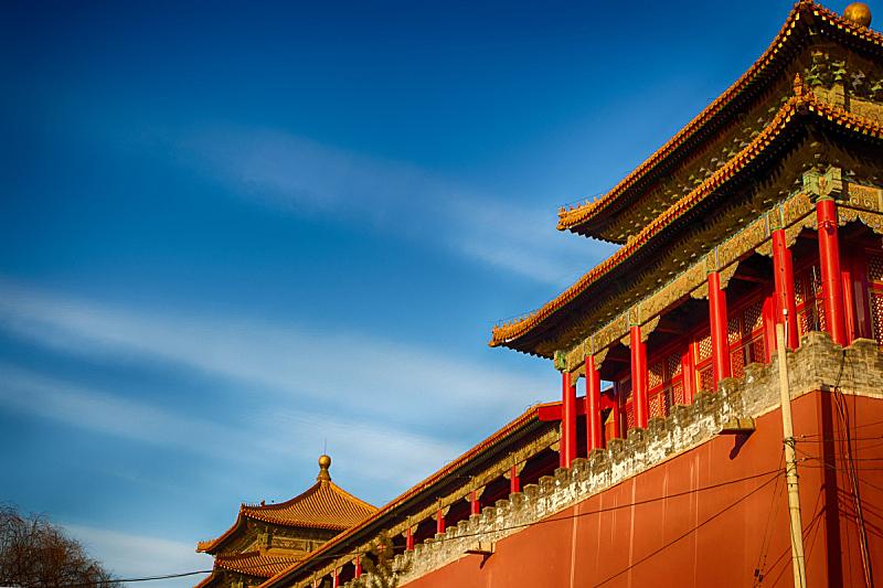 屋顶,北京,传统,中国,建筑,时尚,标语,国内著名景点