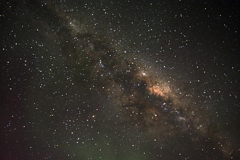 南极光,银河系,北极光,太空,星系,水平画幅,曝光过度,夜晚,无人,星星