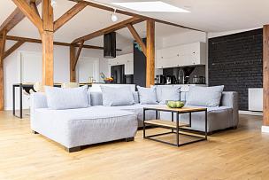 阁楼,公寓,留白,褐色,度假胜地,水平画幅,无人,家庭生活,家具,居住区