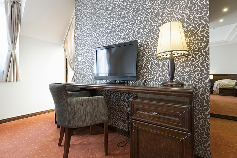 室内,宾馆客房,褐色,度假胜地,水平画幅,无人,椅子,灯,家具,居住区