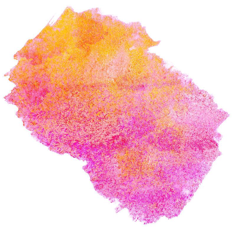 白色背景,玷污的,设计元素,紫色,水彩画,橙色,红松,纹理效果,分离着色,创造力