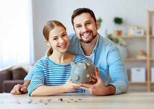 小猪扑满,幸福,家庭生活,家庭,双亲家庭,金融,女儿,丈夫,父母,妻子