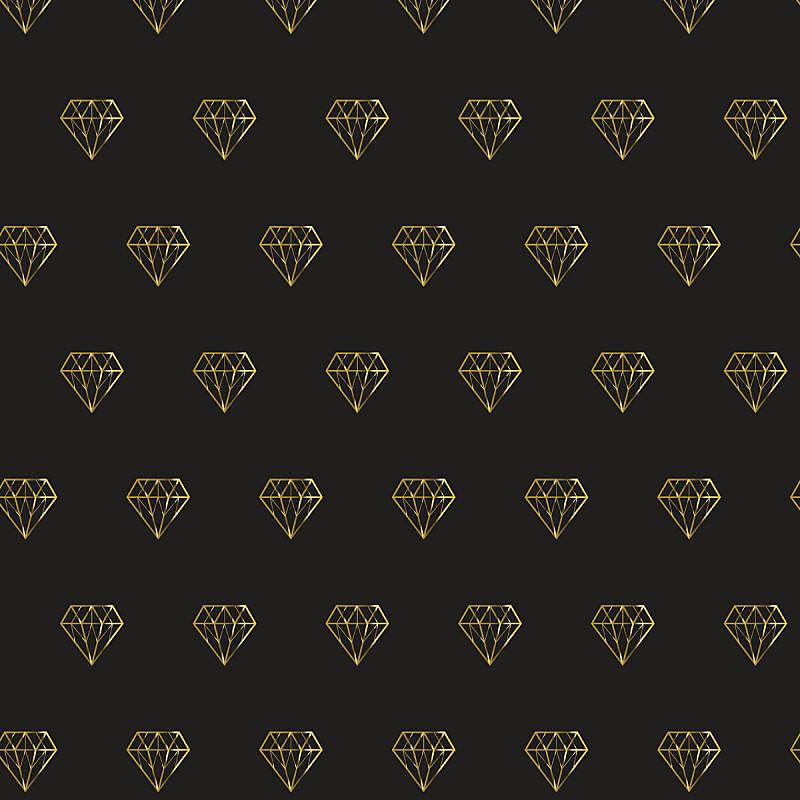 式样,黄金,钻石,背景,宝石,形状,绘画插图,符号,珠宝,四方连续纹样