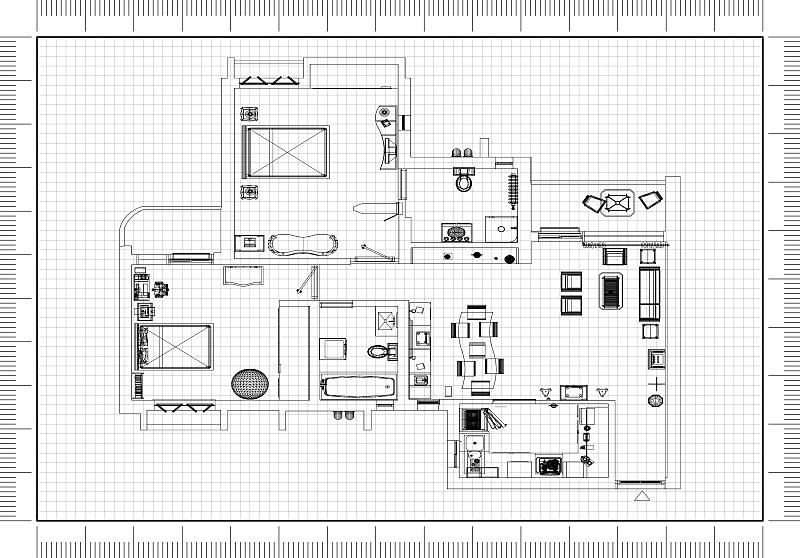 蓝图,建筑师,计划书,砖,舒服,地板,椅子,沙发,现代,建筑业