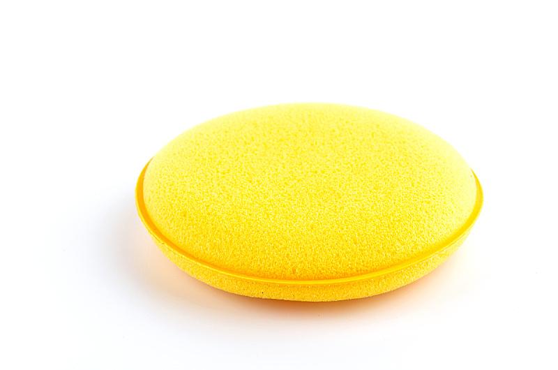 黄色,海绵,白色背景,分离着色,有机食品,湿,卫生,一个物体,汽车,图像