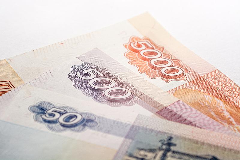 帐单,山谷橡树木,俄罗斯卢布,水平画幅,无人,凸版印刷,特写,摄影,改变