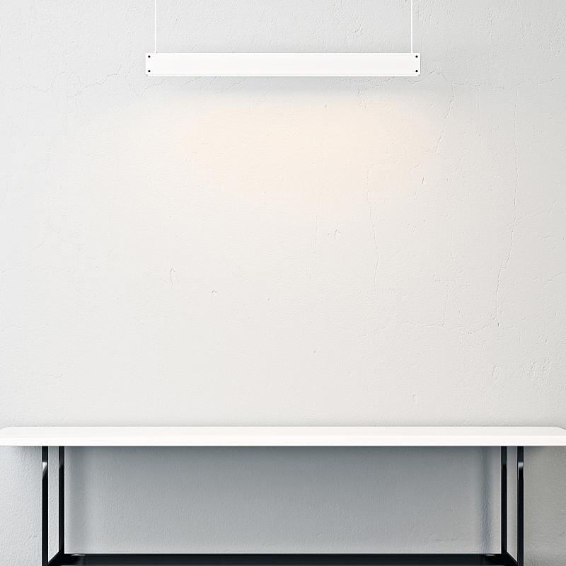 桌子,灯,室内,空的,白色,办公室,住宅房间,式样,墙,建筑
