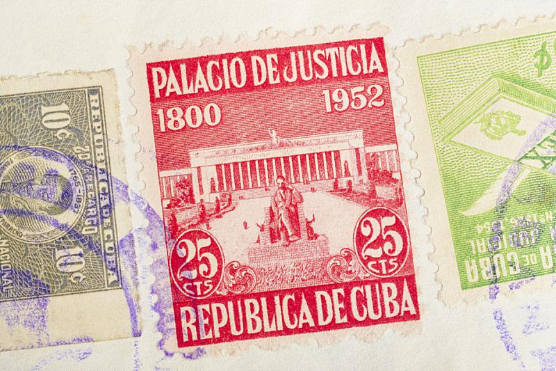 古董,邮戳,橡皮章,古巴,邮件,办公室,纪念碑,水平画幅,无人
