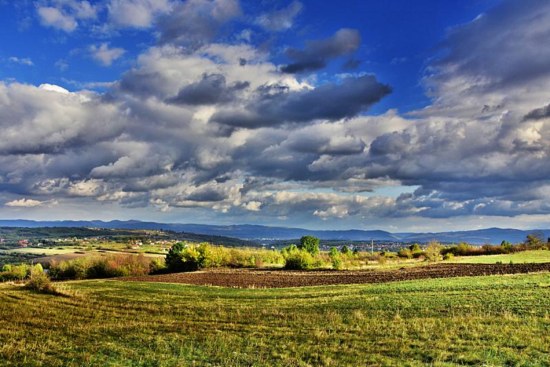 地形,高动态范围成像,自然,天空,宁静,水平画幅,云,无人,户外,草