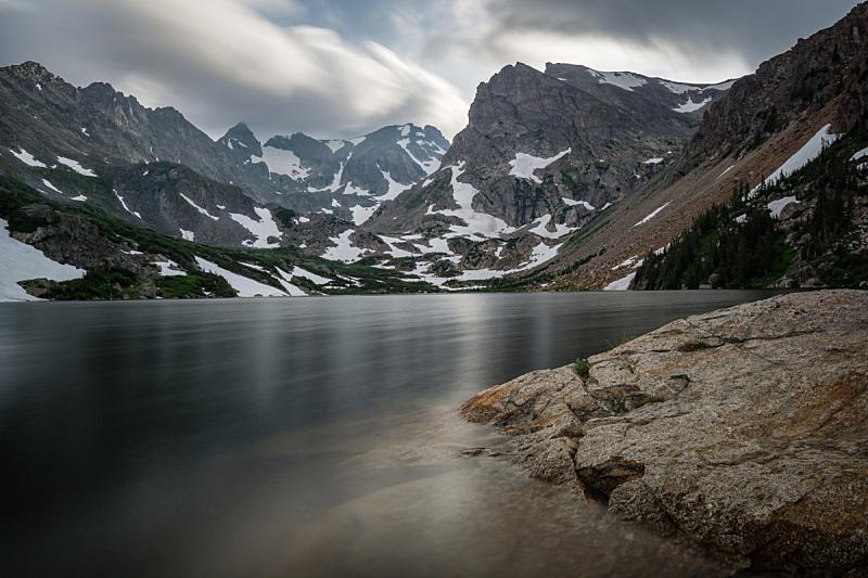 科罗拉多州,湖,isabella,阿拉帕霍族,长湖,国家休闲区,蓝湖,丹佛,荷兰,长时间曝光