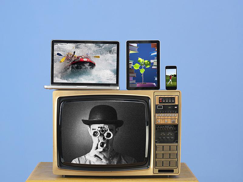 古典式,平板电脑,计算机,现代,电视机,数字化显示,电视静音,上网本,家用摄像机,反差
