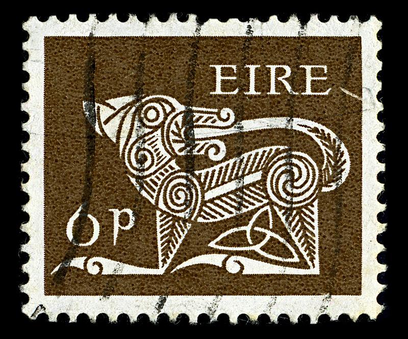 褐色,古董,水平画幅,无人,古老的,邮戳,复古风格,大特写