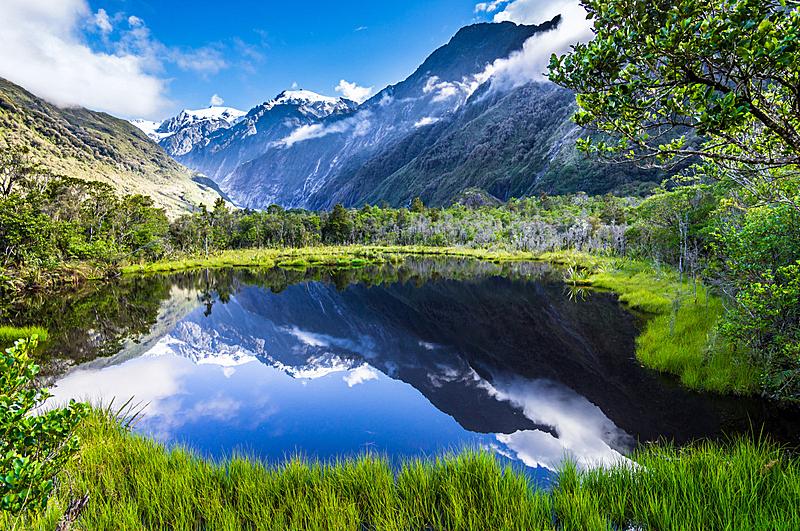 湖,宁静,水,天空,斯凯岛,水平画幅,山,无人,偏远的,户外