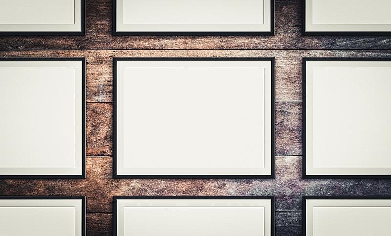 边框,木制,空白的,画框,背景,轻蔑的,空的,一个物体,背景分离,美术工艺