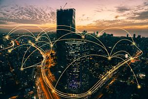 技术,城市,计算机,网线插头,现代,金融技术,云计算,网络安全防护,计算机网络,云