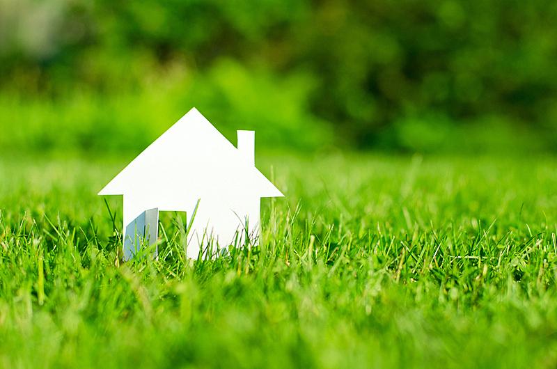 房屋,新的,夏天,草,安全,现代,想法,建筑业,抵押文件