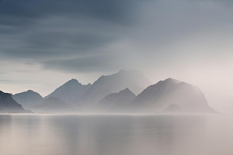 挪威,夏天,多云, 罗弗敦群岛 ,云景,环境,云,天气,自然美,海岸线