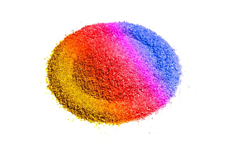 沙子,白色背景,石英,分离着色,美,褐色,水平画幅,无人,干的,特写