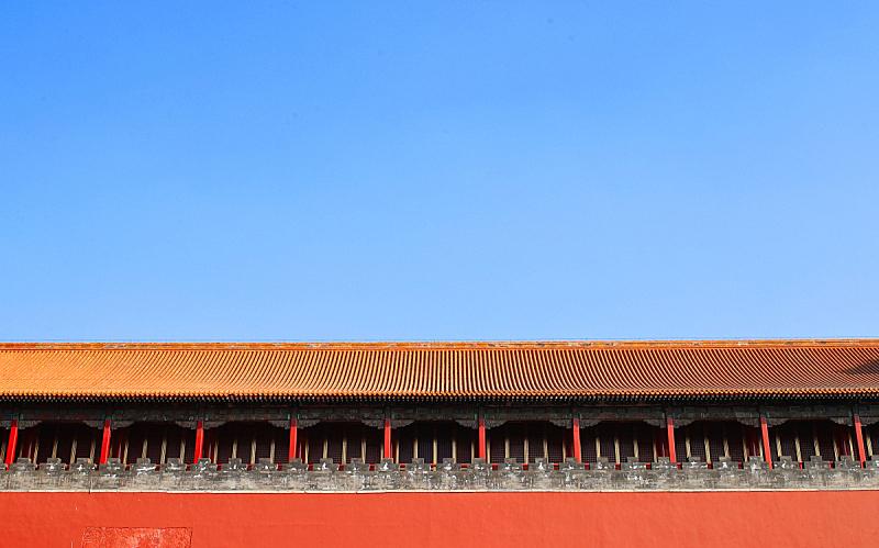 宫殿,过去,屋顶,屋檐,瓦,亭台楼阁,故宫,北京市,国际著名景点,博物馆