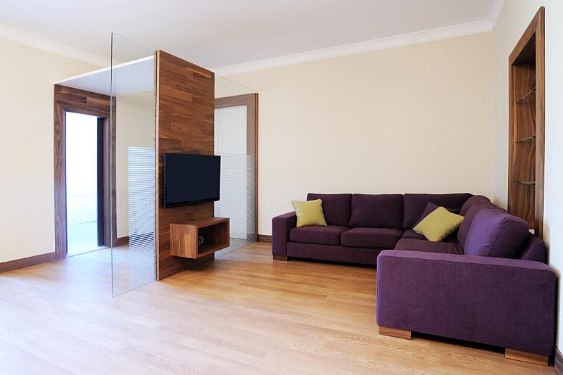 现代,室内,住宅房间,新的,水平画幅,建筑,无人,豪宅,玻璃,硬木