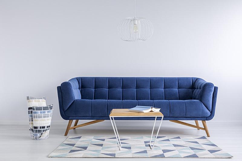 地毯,住宅房间,式样,白色,留白,灵感,水平画幅,无人,灯,家具