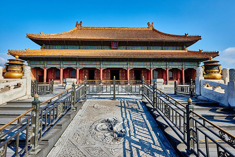 禁止的,乾清宫,故宫,旅游目的地,水平画幅,建筑,建筑外部,户外,北京,国际著名景点
