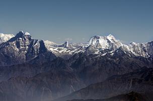 珠穆朗玛峰,喜马拉雅山脉,全景,山脉,帕坦,努子峰,洛子峰,坤布,不丹,山脊