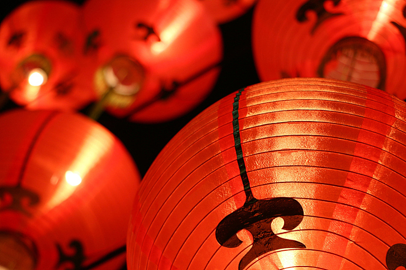 灯笼,春节,多色的,中国元宵节,穗,中国灯笼,亚洲,红色,符号,图像