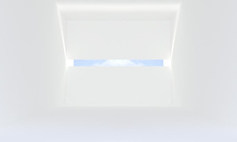 住宅房间,白色,空的,后现代,室内,水平画幅,无人,起居室,极简构图,现代