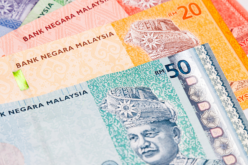 马来西亚林吉特,马来西亚,特写,笔记本,银行业,亚洲,商务,帐单,外币兑换,图像