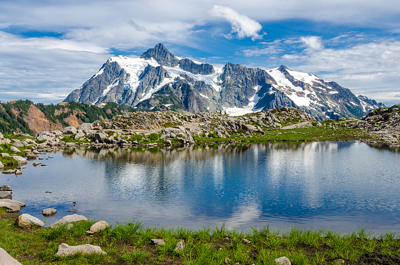 贝克尔山,加拿大落基山脉,自然,非都市风光,水平画幅,岩石,雪,无人,蓝色,全景