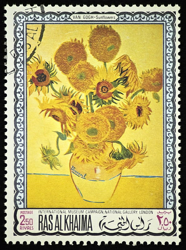 梵高,向日葵,垂直画幅,美,艺术,古老的,艺术品,古典式