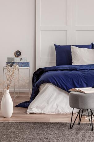 灰色,白色,书,室内,蓝色,卧室,时髦的,开着的,华贵,舒服
