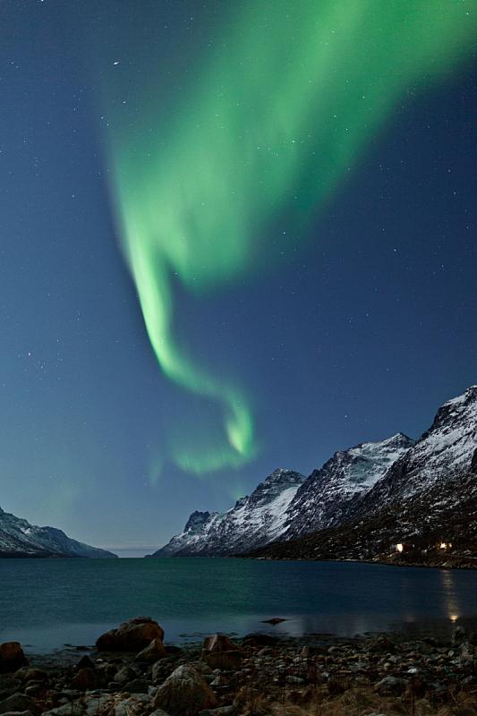 北极光,垂直画幅,星系,无人,圣诞老人,湖,斯堪的纳维亚半岛,非凡的,瑞典