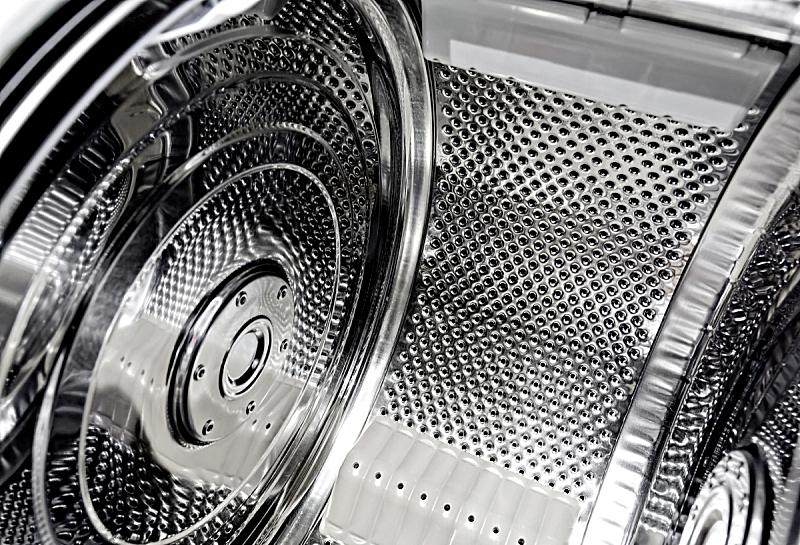 不锈钢,洗衣机,背景,席子,洞,水平画幅,纹理效果,家庭生活,干净,金属