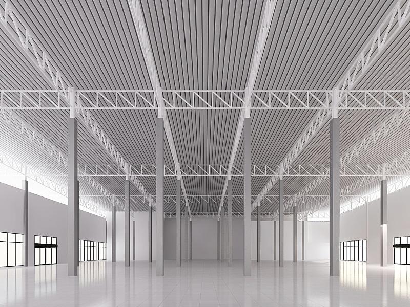三维图形,草图,室内,仓库,视角,边框,泰国,蓝图,现代,工程