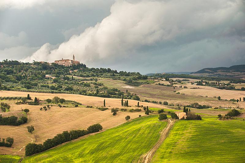 托斯卡纳区,风景,自然美,暴风雨,平流层,自然,草地,水平画幅,山,无人
