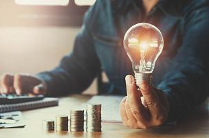 电灯泡,金融,商务,概念,背景,手牵手,救球,led灯,储蓄,电