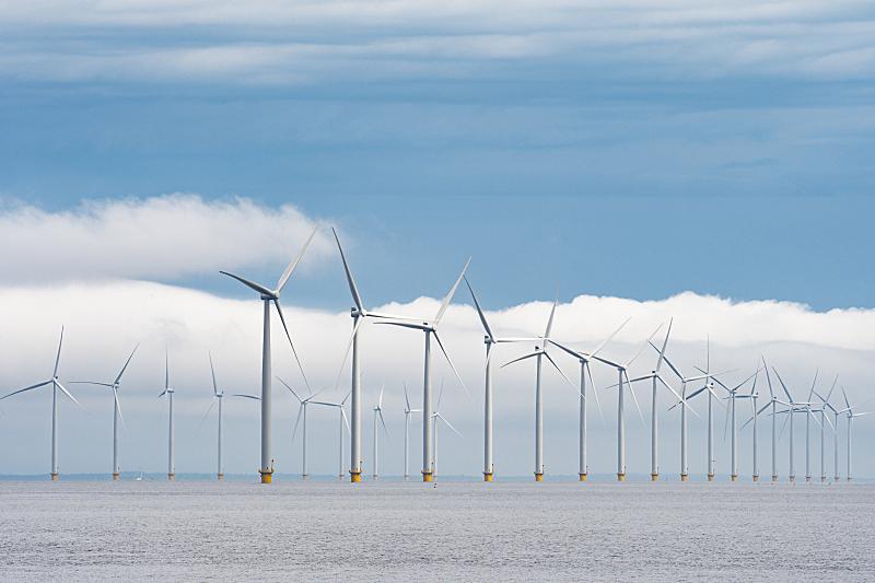 风,风轮机,公园,平衡折角灯,水,天空,气候,水平画幅,风力,能源