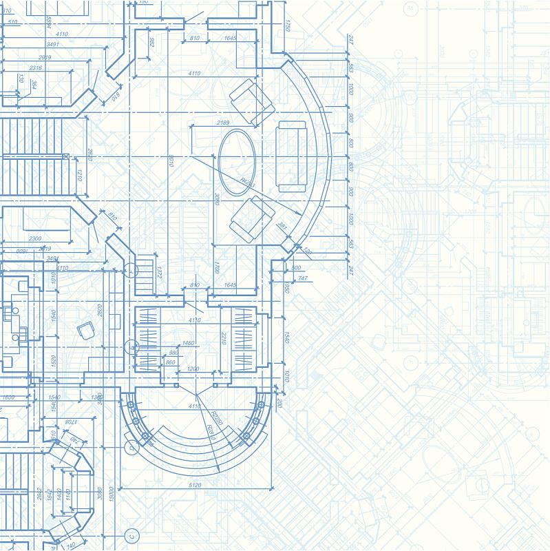 蓝图,背景,平衡折角灯,建筑,形状,无人,蓝色,绘画插图,文档,做计划