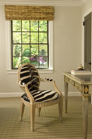 书房,垂直画幅,窗户,木制,无人,椅子,地毯,房屋,家具,室内